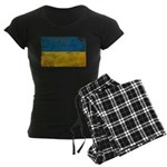 Ukraine Flag Women's Dark Pajamas