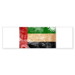 United Arab Emirates Flag Sticker (Bumper)