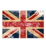 United Kingdom Flag Postcards (Package of 8)