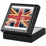 United Kingdom Flag Keepsake Box