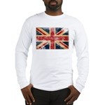 United Kingdom Flag Long Sleeve T-Shirt