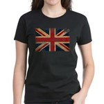 United Kingdom Flag Women's Dark T-Shirt