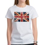 United Kingdom Flag Women's T-Shirt