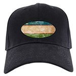 Uzbekistan Flag Black Cap