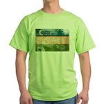 Uzbekistan Flag Green T-Shirt