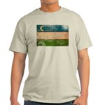 Uzbekistan Flag Light T-Shirt