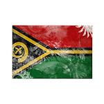 Vanuatu Flag Rectangle Magnet (100 pack)