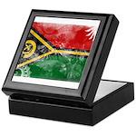 Vanuatu Flag Keepsake Box