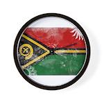 Vanuatu Flag Wall Clock