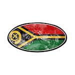 Vanuatu Flag Patches