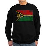 Vanuatu Flag Sweatshirt (dark)