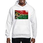 Vanuatu Flag Hooded Sweatshirt