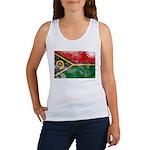 Vanuatu Flag Women's Tank Top
