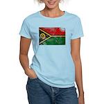 Vanuatu Flag Women's Light T-Shirt