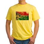 Vanuatu Flag Yellow T-Shirt