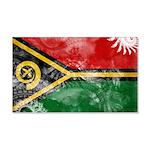 Vanuatu Flag 22x14 Wall Peel