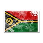 Vanuatu Flag Car Magnet 20 x 12