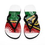 Vanuatu Flag Flip Flops