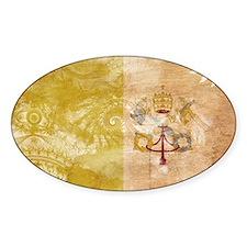Vatican City Flag Decal