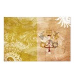 Vatican City Flag Postcards (Package of 8)