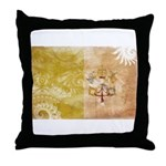Vatican City Flag Throw Pillow