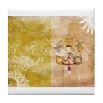 Vatican City Flag Tile Coaster