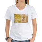 Vatican City Flag Women's V-Neck T-Shirt