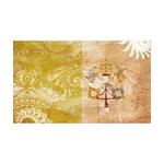 Vatican City Flag 38.5 x 24.5 Wall Peel