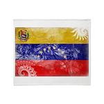 Venezuela Flag Throw Blanket