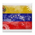 Venezuela Flag Tile Coaster