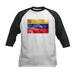 Venezuela Flag Kids Baseball Jersey