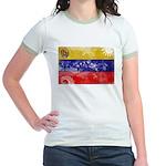 Venezuela Flag Jr. Ringer T-Shirt