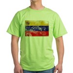 Venezuela Flag Green T-Shirt