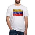 Venezuela Flag Fitted T-Shirt