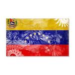 Venezuela Flag 22x14 Wall Peel