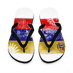 Venezuela Flag Flip Flops