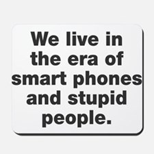 Phones and People Mousepad