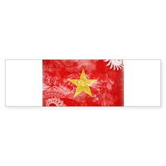 Vietnam Flag Sticker (Bumper 10 pk)
