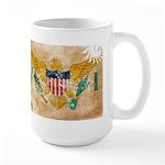 Virgin Islands Flag Large Mug