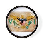 Virgin Islands Flag Wall Clock