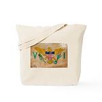 Virgin Islands Flag Tote Bag