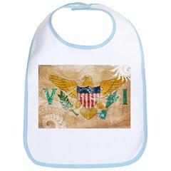 Virgin Islands Flag Bib