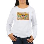 Virgin Islands Flag Women's Long Sleeve T-Shirt