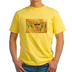 Virgin Islands Flag Yellow T-Shirt