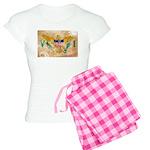 Virgin Islands Flag Women's Light Pajamas