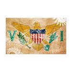 Virgin Islands Flag 38.5 x 24.5 Wall Peel