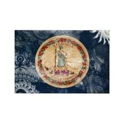Virginia Flag Rectangle Magnet (100 pack)