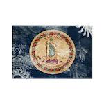 Virginia Flag Rectangle Magnet (10 pack)