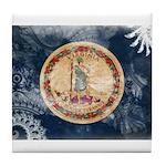 Virginia Flag Tile Coaster