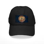 Virginia Flag Black Cap